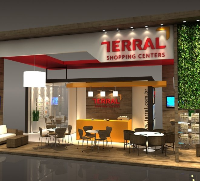 STAND TERRAL SHOPPING CENTERS - ABF FRANCHISING